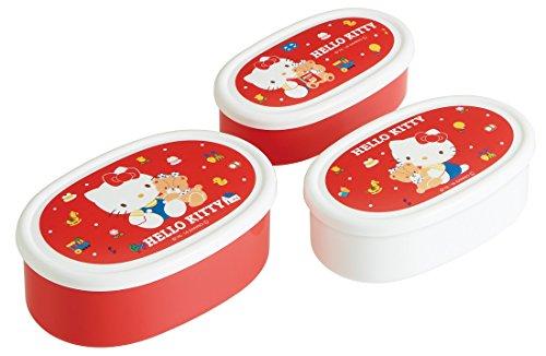 Skater Hello Kitty 80S Rouge scellé à nourriture Ensemble de 3P Srs3s à partir du Japon