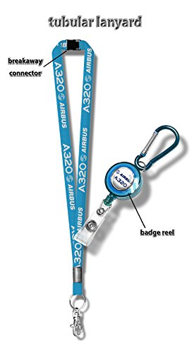 airbus-a320-tubular-lanyard-badge-reel