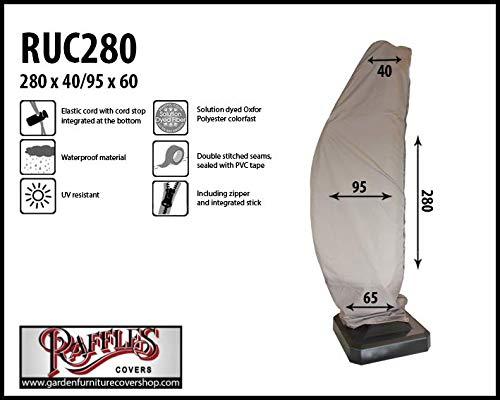 ruc280Housse de protection pour parasol déporté, Easy Sun, Lunettes de Arden modèle