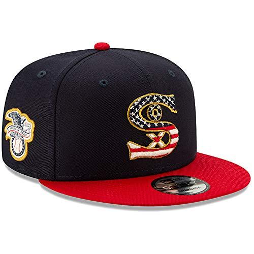 New Era Chicago White Sox 4th of July 2019 MLB 9FIFTY Snapback Cap, One Size Sox Mlb-snap
