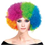 PICCOLI MONELLI Parrucca Clown Uomo Donna Parrucca Pagliaccio Adulti di Carnevale