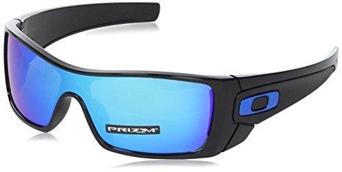 Oakley Herren Batwolf 910158 Sonnenbrille, Mehrfarbig (Polished Black), 127 (Batwolf Oakley Sonnenbrille)