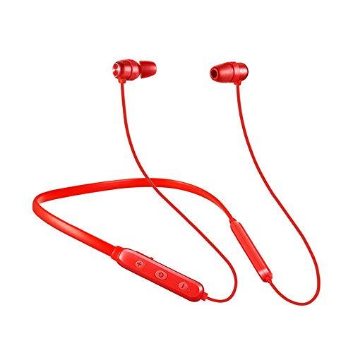 Elospy Bluetooth Kopfhörer Kabellos mit Magnetverschluss, Wasserfest Sport Headset Bass In-Ear ohrhörer mit 10-Stunden-Spielzeit/Mikrofon für iPhone, iPad, Samsung, Nexus, HTC und mehr