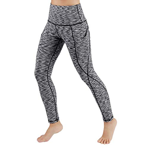 Pantalones Yoga Mujeres Mallas Deportivas Mujer Cintura