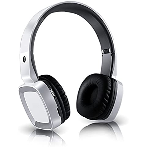 Over-Ear Auricolari, Ailina Cuffie Wireless Bluetooth CSR 4.0 pieghevole stereo incorporato microfono,