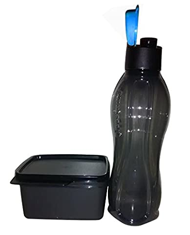 TUPPERWARE Xtreme Set für Sport Lover (Eco Flip Top Trinkflasche mit Sipper 750ml + KEEP Tab 500ml)