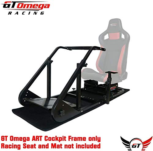 GT OMEGA ART RACING SIMULATOR COCKPIT FRAME (NO SEAT) (Xbox-racing Seat)