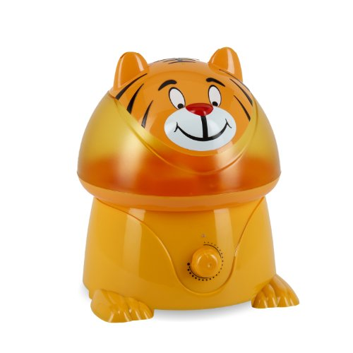 Crane Adorable Ultrasonic Cool Mist Humidifier with 1 Gallon Output per Day - Tiger