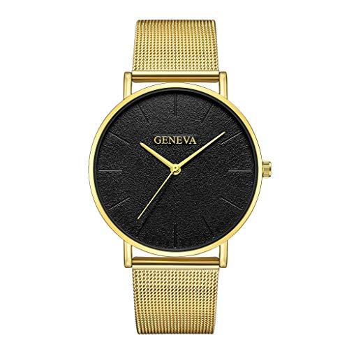 VJGOAL Unisex Uhren, Damen und Herren Ultradünne Classic Minimalistisches Cool Watch