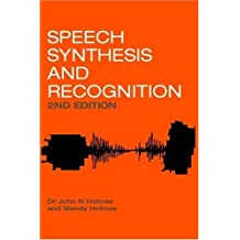 Speech Synthesis and Recognition, 2nd Edition