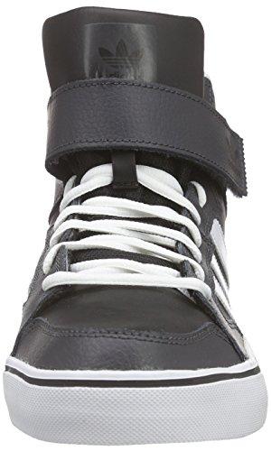 adidas Herren Varial II Mid Hohe Sneakers, Bunt, 44,5 EU Grau (Dgh Solid Grey/Ftwr White/Core Black)