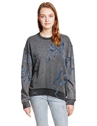 Diesel Herren Pullover Sweatshirt F-KASH-B FELPA Dunkelgrau