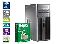 PC Gamer Multimédia Unité centrale - HP 8300 MCT - Nvidia Geforce GTX 1050 - Intel Core i5-3470 @ 3,2 GHz - 8 Go DDR3 RAM - 1 To HDD - 240 SSD - Lecteur DVD - Windows 10 PRO 64 bits préinstallé - Garantie 12 mois - Reconditionné Certifié    Interface...