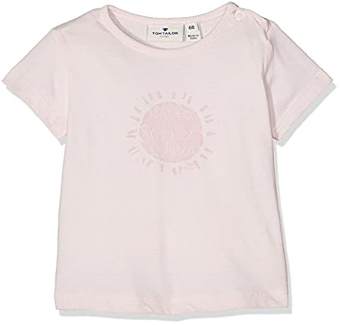 TOM TAILOR Kids Baby-Mädchen T-Shirt with Sun Print Rosa (Quiet Pink 5711), 86