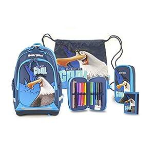 Angry Birds 19AB-905-EI-5 – Mochila, 41 cm, 23 L, diseño de Eagles Island