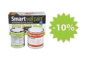 Pittura lavagna magnetica 2m2 bianco for Pittura lavagna prezzo