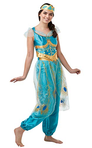 Rubie's Offizielles Disney Live Action Aladdin, Jasmin Damen-Kostüm (Top 10 Fancy Dress Kostüm)