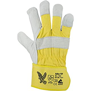 Asatex Eagle Top Glove Natural Yellow (Pack of 12Pairs)
