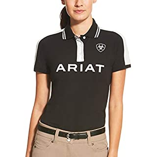 ARIAT NEW LADIES TEAM POLO BLACK S