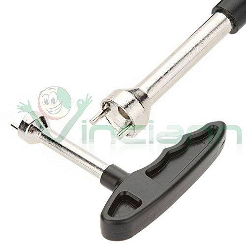 Schlüssel einfach entfernen Spitzen Schuhe Ersatz Spikes Stollen Metall Golf (Stollen Spitze)