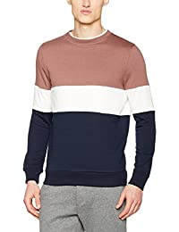 New Look 3 Way Block Sweat, Sudadera para Hombre