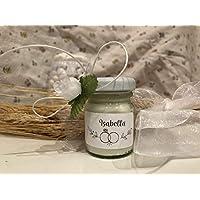 5 mini candele profumi assortiti segnaposto Matrimonio Cerimonie in vasetto personalizzato Decorazione tavola confettata regalo nozze ricordo per ospiti profumato