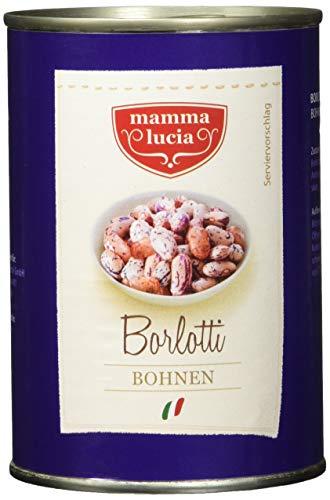 Mamma Lucia Borlotti Bohnen, 12er Pack (12 x 425 ml)