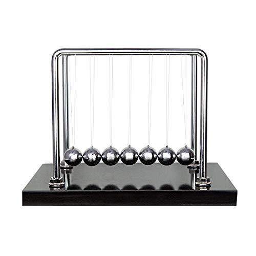 Zufriedenstellendes Produkt Newtons Cradle Balance Balls Kunst In Bewegung Newton Billard Balanced Balls Mit Roter Basis Classic Cradle Balance Balls Wissenschaft Psychologie Puzzle Schreibtisch Spiel
