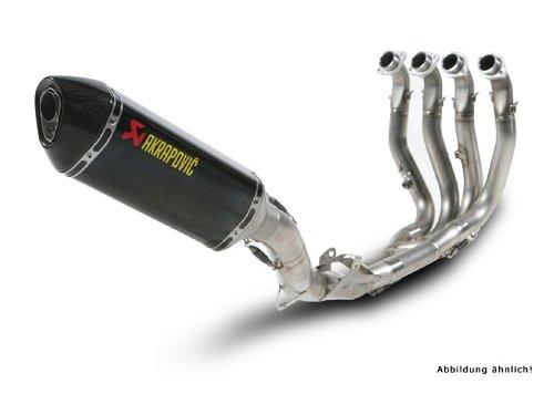 AKRAPOVIC per BMW S 1000 RR 10 EVOLUTION CARBON HEXAGONAL /ABE