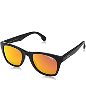Carrera 5038/S UZ, Gafas de Sol Unisex-Adulto, Bk Metallic, 51