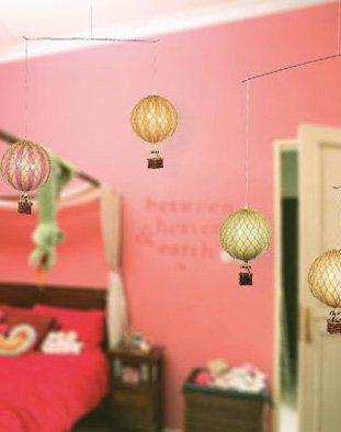 Authentic Models - Freiluft Ballon Mobile - Pastel - 85 x 8,5 x 66,5 cm