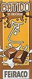 Feiraco Batido de Chocolate - Paquete de 8 x 600 ml - Total: 4800 ml