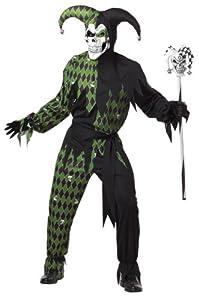 California Costume Aptafêtes-Disfraz de Caballero Oscuro Malvado-Verde