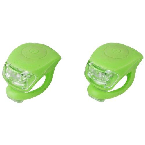JING YI Profex LED-Leuchtenset aus Silikon, Mini LED grün