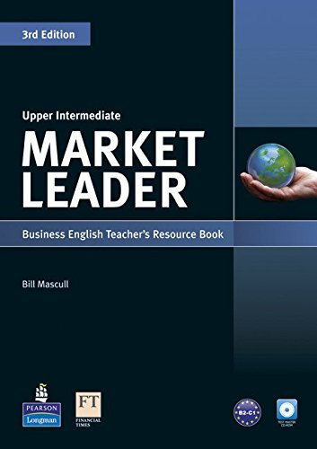 Market Leader 3rd Edition Upper Intermediate Teacher's Resource Book and Test Master CD-ROM Pack por David Cotton