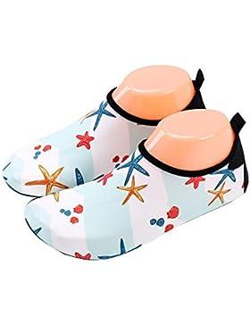 [Patrocinado]Zapatos de niño Zapatos de agua de natación Niños Zapatos de niños descalzo Aqua calcetines para la piscina de...