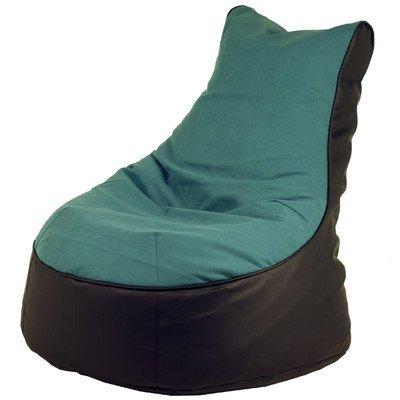Sitzsack Lotos-Genua Farbe (Lotos): Schwarz, Farbe (Genua): Petrol