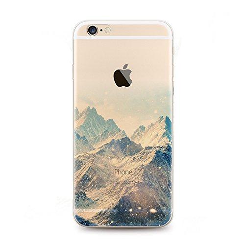 iPhone 6 Case, EinsAcc Traitement Ultra-mince en TPU Étui Souple de Protection pour iPhone 6 6s 4.7'' (6) 3