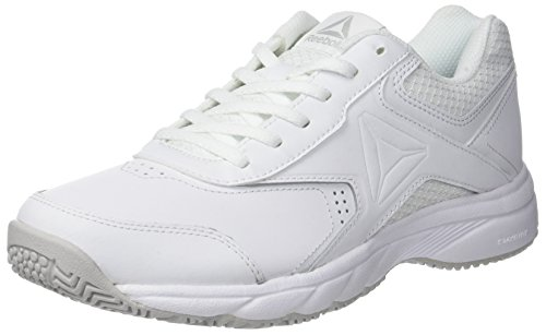 Reebok Work N Cushion 3.0, Scarpe da Fitness Donna, Multicolore (White/Steel 000), 41 EU