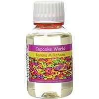Cupcake World Aromas Alimentarios Intenso Plátano Milkshake - 100 ml