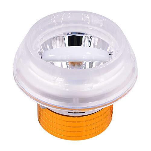 Fari anteriori a LED, Fari da incasso a medusa Faretti a incasso tondi CREE Lampada a tallone Pedali auto elettrica 12-80v Universali