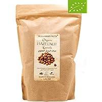 1 kg Granos de avellana orgánica directamente de la granja de avellanas BIO certificada en Bulgaria