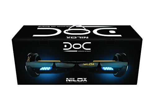 Nilox Universal UL 2272 Doc Hoverboard, gold - 4