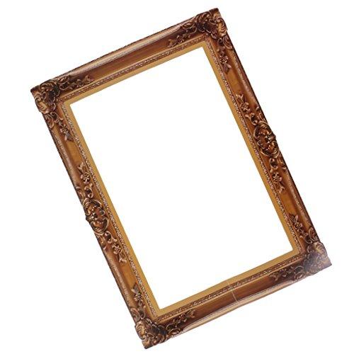 MagiDeal Photo Booth Cornice Per Selfie Photos Frame Foto Props Decorazioni Per Festa Compleanno Matrimonio Laurea Graduazione - legno, 48 x 34 cm