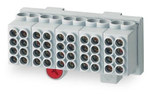 Unitec 40313 Hauptleitungsabzweig-Klemme 25 mm², 5-polig, fingers
