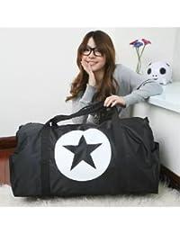 EasyBuy India L, Pink : Women's Handbag Nylon Waterproof Travel Duffle Storage Bags Luggage Sports Bag Shoulder...