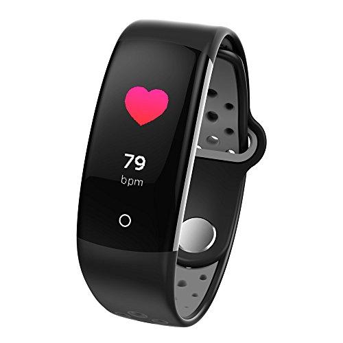 Chenang Sportrekord Intelligente Uhr,Gesundheit Fitnessarmband Überwachung Hinweis Erinnerung mit Pulsmesser Wasserdicht IP68 Schlafüberwachung und Fitness-Tracker