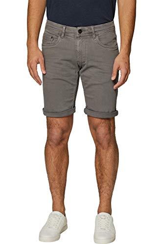 edc by ESPRIT Herren 039CC2C003 Shorts, Grau (Dark Grey 020), W(Herstellergröße: 38)