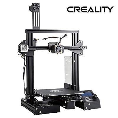Offizielle Creality 3D Drucker Ender 3 PRO mit Upgrade-Cmagnet-Matte und Meanwell-Netzteil
