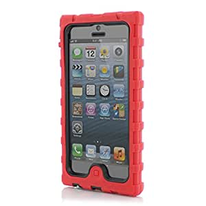 Hard Candy Shock Drop Series Case for iPhone 5 - Red/Black